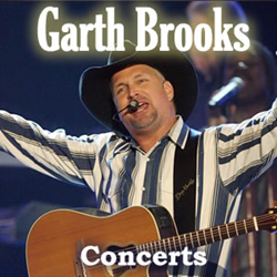 Garth Brooks Detroit, Tulsa, Boston, Buffalo And Pittsburgh