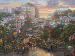 New Limited Edition Release Image from The Thomas Kinkade Vault
