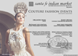 The Santa Fe Indian Market® Announces Four Couture Fashion Events...