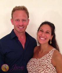 Ian Ziering with Miami Psychotherapist Jasmin Terrany