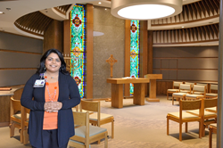 Shama Mehta to complement Oakwood Spiritual Support team