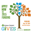 Farm Credit Now Accepting Applications for 2015 National Contributions...