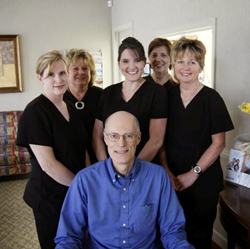 Graham dentist Dr. Crayle and his staff