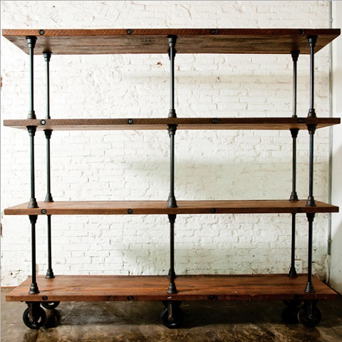 has introduced a guide to industrial style. Black Bedroom Furniture Sets. Home Design Ideas