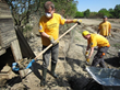 Scientology Volunteer Ministers Get Their Hands Dirty After Balkans...
