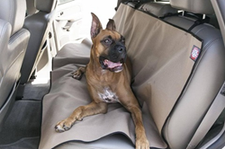 Tan Universal Waterproof Back Seat Cover By Majestic Pet Products 78899500010