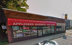 Storefront of Appleseed Business Machines