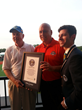 Cal Ripken, Jr. was on hand when Big League Chew Bubble Gum achieved a GUINNESS WORLD RECORDS® title