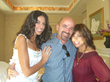David Geha with Terri Seymour and Paula Abdul