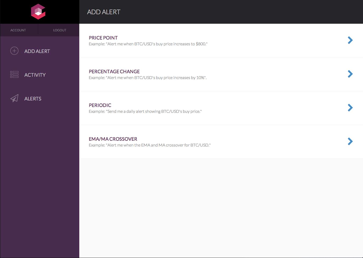 Coindera Launches Bitcoin Alert & Monitoring Application ...