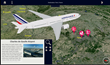 Air France Launches Innovative FlightPath3D Moving Map Service