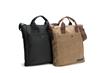 VertiGo 2.0 Laptop Bag—two vegan options: all ballistic nylon or all waxed canvas