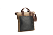VertiGo 2.0 Laptop Bag—waxed canvas with black leather details