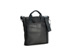 VertiGo 2.0 Laptop Bag—black ballistic nylon with black leather panel