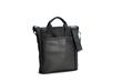 VertiGo 2.0 Laptop Bag—black ballistic nylon with black leather panel
