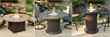 Colonial Collection Fire Pit Table Base Comparison