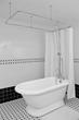 "56"" Hotel Collection Pedestal Tub & Shower Pack"