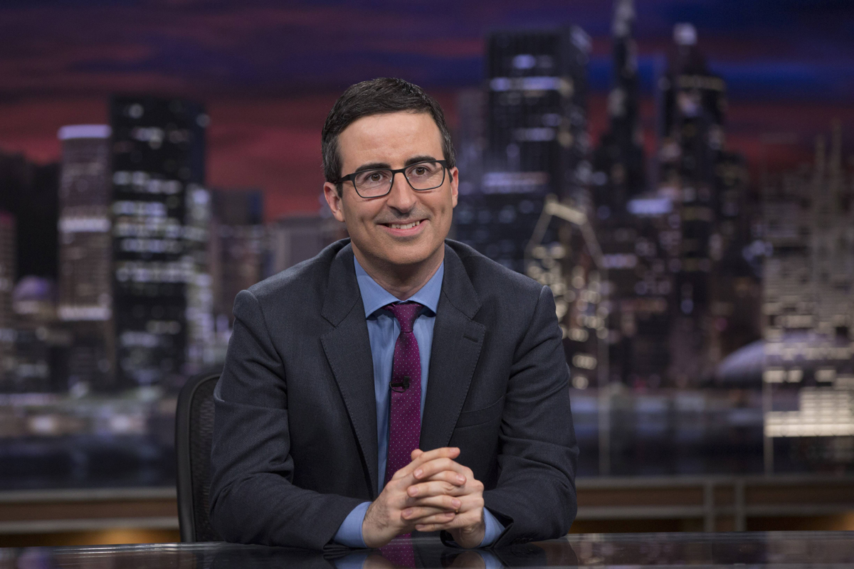 Comedian and host of hbo s new hit show last week tonight for New durham media center