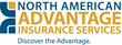 New website for North American Advantage Insurance Services Provides...