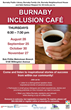 Media Release Highlighting Burnaby Inclusion Café as a Safe...