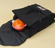"The Extra Wide Tailgate Hotbag is 21"" x 19"" x 8.5"" and opens wide handle large food items or pizzas"