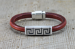 Take Him to the Greek Men's Bracelet from SariBlue®