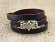 Red Sonja Leather Bracelet from SariBlue®.