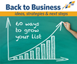 Let's Get Back To Business!, Constant Contact, Workshop