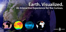 An interactive experience for the curious - Earth. Visualized. on Google Play.
