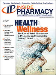 Cover of the June/July issue of Inside Pharmacy