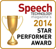 SpeechPro Named Star Performer by Speech Technology Magazine