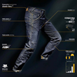 REV'IT Cordura PWR Shield Motorcycle Jeans Technical Composition