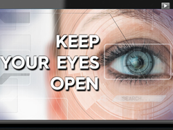 Keep Your Eyes Open Title Screen