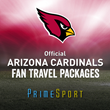 PrimeSport Announces New Partnership with Arizona Cardinals as the Official Fan Travel Provider for the 2014 Season