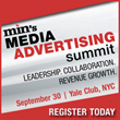 Just Announced min Media Advertising Summit Sept. 30 in NYC