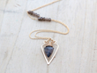 Spearhead Necklace from Saressa Designs.