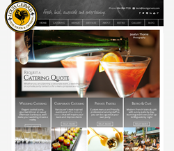 Louis Gervais Fine Foods & Catering launches new website