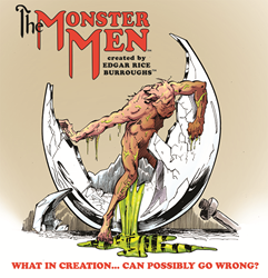 Online Web Comic Strip by the author of Tarzan, Edgar Rice Burroughs
