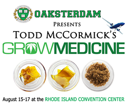 Oaksterdam University Hosts Grow Medicine Featuring Todd McCormick