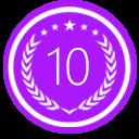 Top PR Firms Badge