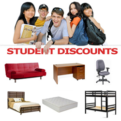 Great deals for students from FurnitureNYC.net