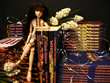 Image 1: Artist & Memoirist Valentino Zubir's books and doll art