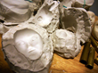 Image 5: Doll molds made of plaster of paris