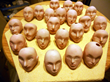 Image 8: The heads are ready to be painted
