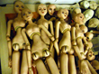 Image 11: A few dolls after the stringing stage