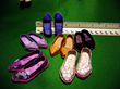 Image 13: Some pairs of shoes for the dolls