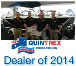 Quintrex Aluminum boat Dealer
