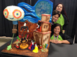 Chef Vanessa Greeley, Silvina Barboza & Carolina Lara with their winning Live Challenge Cake
