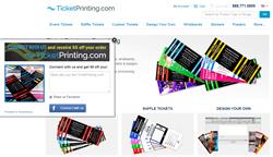 ShopSocially App on TicketPrinting.com