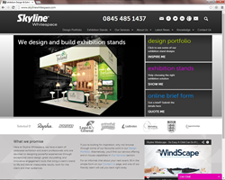 Skyline Whitespace Website
